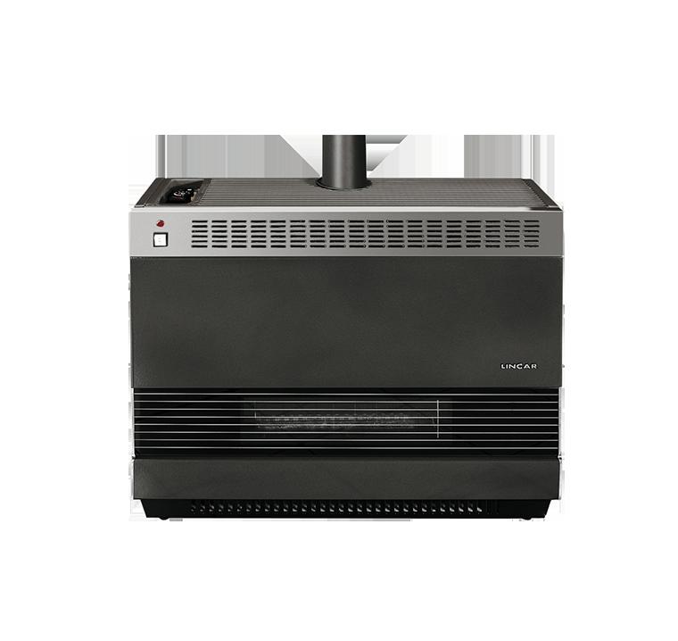 Radiatore termostatico ventilato multigas lincar - Radiatore per stufa a legna ...